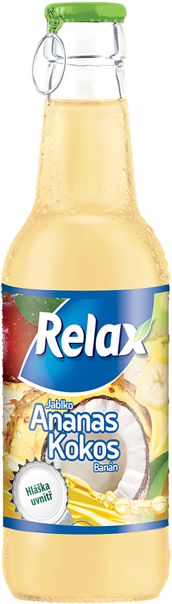 Relax drink-bottle-ananas-kokos